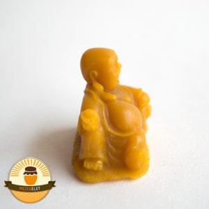 Fekvő Buddha méhviasz gyertya jobbról
