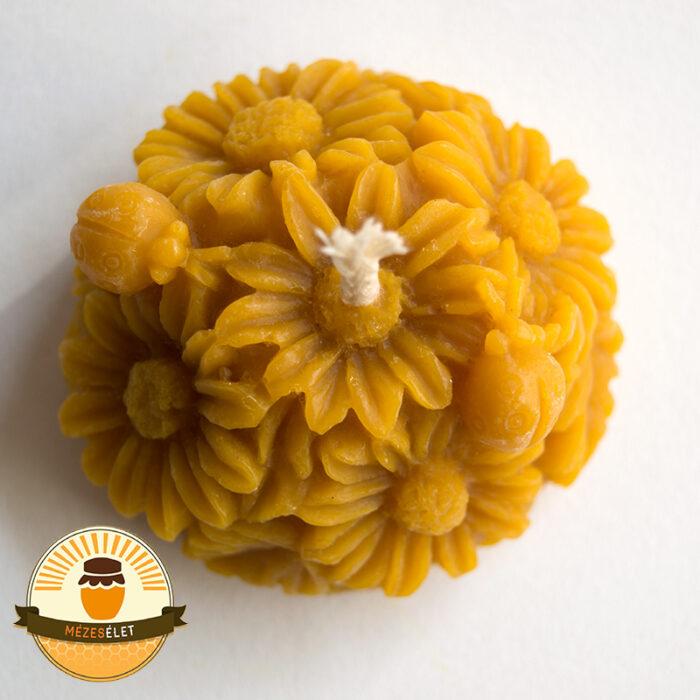 Katicás virág méhviasz gyertya termékkép